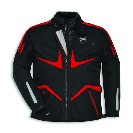 Ducati Tour V2 Textile Riding Jacket - Size X-Large picture