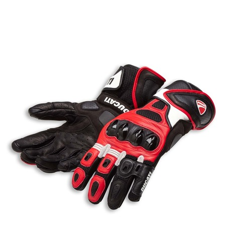 Ducati Speed Air C1 Gloves - Red - Size Large picture