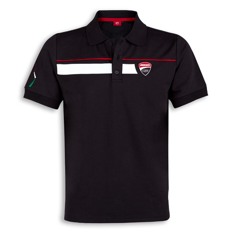 Ducati Corse Speed Polo - Black - Size Large picture