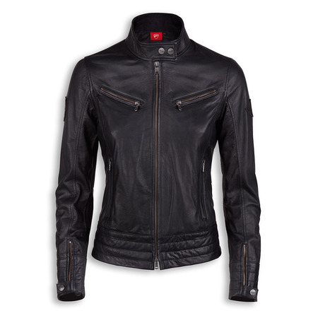 Ducati Vintage Women's Leather Jacket -M picture