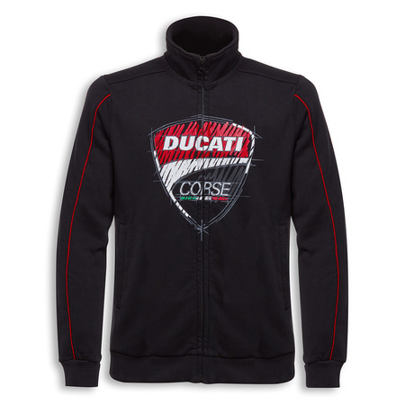 Ducati Corse Sketch Sweatshirt - Size Medium picture