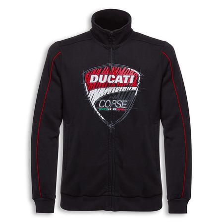 Ducati Corse Sketch Sweatshirt - Size Medium picture