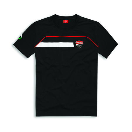 Ducati Corse Speed T-Shirt - Black - Size XX-Large picture