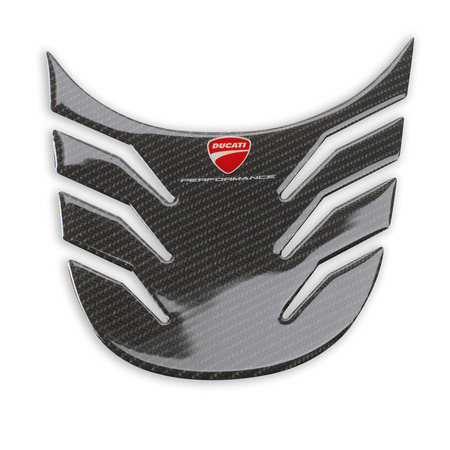 Ducati MTS Carbon Tank Protector-Matte Finish (SALE) picture