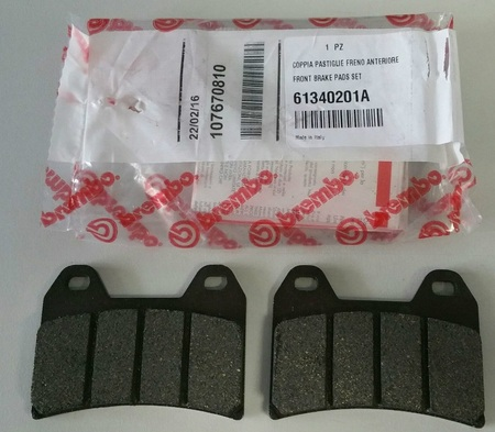 FRONT BRAKE PADS SET picture