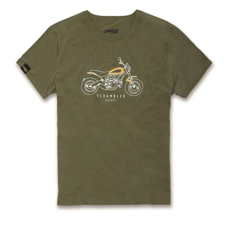 Ducati Heritage Tshirt - Size Small picture
