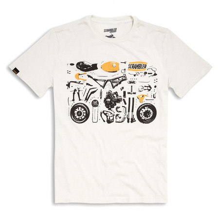 Ducati Puzzle Tee - Size X-Large picture