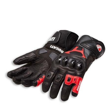 Ducati Speed Air C1 Gloves - Black - Size Medium picture