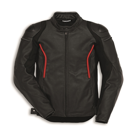 Ducati Stealth C2 Leather Riding Jacket - Perforated - Size 58 picture