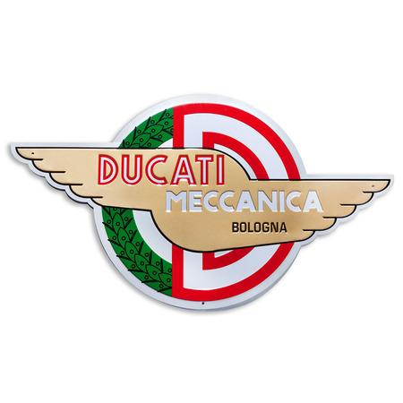 Ducati Meccanica Metal Insignia picture