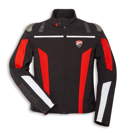 Ducati Corse tex C4 - BLACK/RED -60 picture