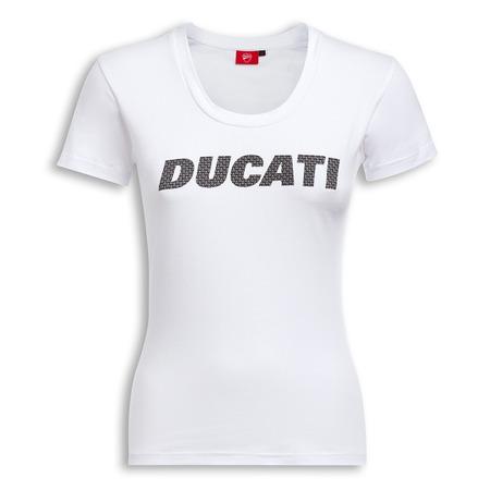 Ducati Carbon Graphic Art Women's T-Shirt - Size X-Large picture