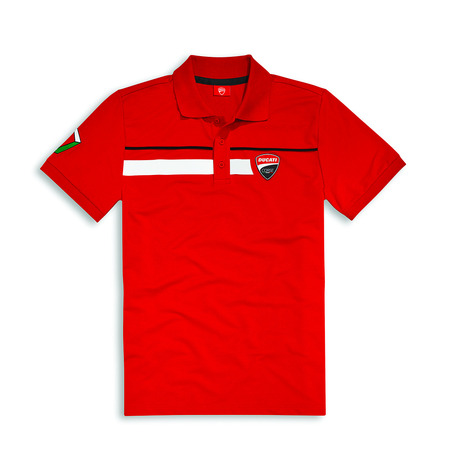 Ducati Corse Speed Polo - Red - Size X-Large picture