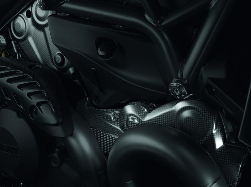 Accessories Monster Carbon Fiber Carbon Belt Cover Guard Kit M