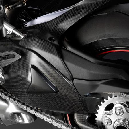 Accessories Superbike Carbon Fiber Carbon Swingarm Guard Sbk