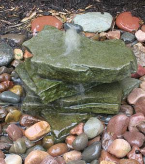 AquaRock Bluestone Fountain Kit - 5 Gallon picture