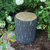 Faux Oak Stump Cover