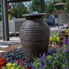 Rippled Urn Landscape Fountain Kit - Medium