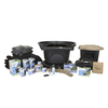 Large Deluxe Pond Kit 21 x 26 with AquaSurge 4000-8000 Adjustable Flow Pond Pump