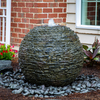 Stacked Slate Sphere Landscape Fountain Kit