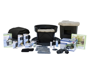 Medium Pond Kit 11' x 16' with AquaSurgePRO 2000-4000 Pump picture