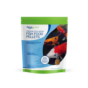 Premium Cold Water Fish Food Pellets - 1.1 lbs / 500g picture