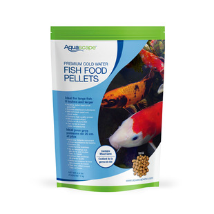 Premium Cold Water Fish Food Pellets - 4.4 lbs / 2 kg picture