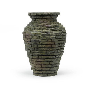 Stacked Slate Urn Fountain - Mini picture