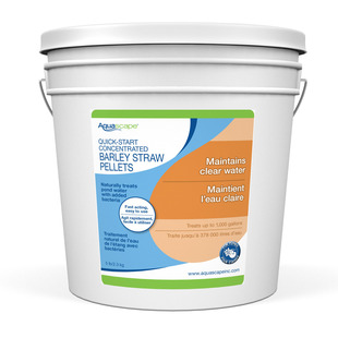 Quick Start Concentrated Barley Straw Pellets - 5 lbs / 2.2 kg picture