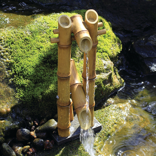 Deer Scarer Bamboo Fountain picture
