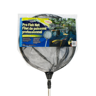 Pro Fish Net Round with Black Soft Netting (w/ Extendable Handle) picture