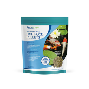Premium Staple Fish Food Mixed Pellets - 1.1 lbs / 500 g picture