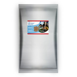 Premium Color Enhancing Fish Food Pellets - 22 lbs / 10 kg picture