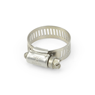 """Stainless Steel Hose Clamp 9/16"""" to 1.25"""" picture"""