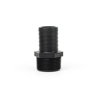 "Barbed Male Hose Adapter 1.25"" to 1.25"" picture"