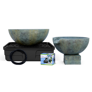 Spillway Bowl and Basin Landscape Fountain Kit picture