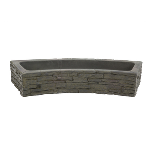 Quad-Spill Curved Stacked Slate Topper picture