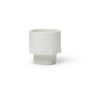 """PVC Male Pipe Adapter 1.25"""" x 1.5"""" picture"""