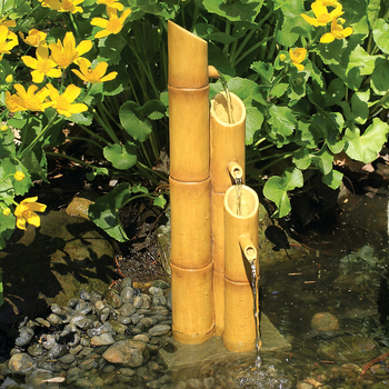 Pouring Three-Tier Bamboo Fountain picture
