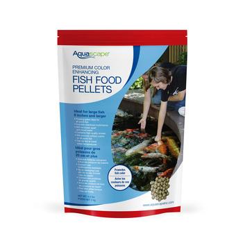 Premium Color Enhancing Fish Food Pellets 2 kg / 4.4 lbs picture