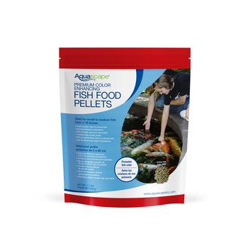 Premium Color Enhancing Fish Food Pellets - 1.1 lbs / 500 g picture