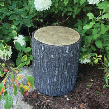 Faux Oak Stump Cover picture