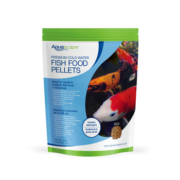 Premium Cold Water Fish Food Pellets - 2.2 lbs / 1kg picture
