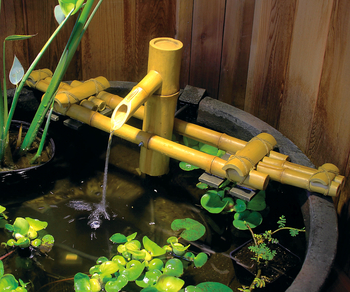 Adjustable Pouring Bamboo Fountain picture