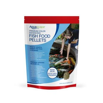 Premium Color Enhancing Fish Food Pellets 1kg picture