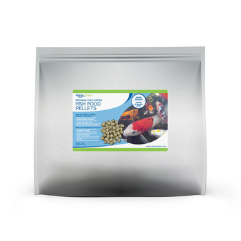 Premium Cold Water Fish Food Pellets - 11 lbs / 5 kg picture