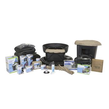 Medium Deluxe Pond Kit 11 x 16 with AquaSurge 2000-4000 Adjustable Flow Pond Pump picture