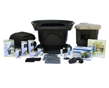 Large Pond Kit 21' x 26' with 9PL - 7000 Pump picture