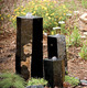 "3 Semi-Polished Stone Basalt Columns - Sm 12""H,Med 20""H,Lrg 27""H additional picture 1"