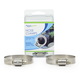 """Stainless Steel Hose Clamp (2) 1.5"""" to 2"""" additional picture 1"""